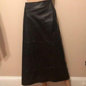 NWT Lane Bryant leather skirt